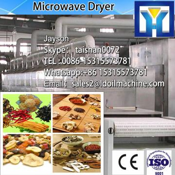 High tech food processing microwave dryer machine