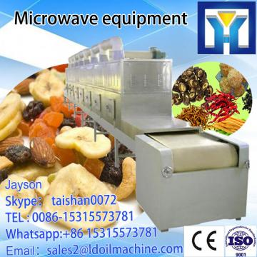 Tunnel-type Microwave Food Dryer