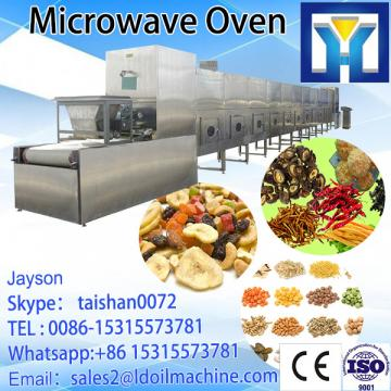 60kw vegetable blanch equipment with cooling section at the end of the tunnel