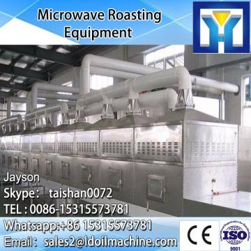 60KW microwave almond roast equipment with puffing effect 150-200kg/h