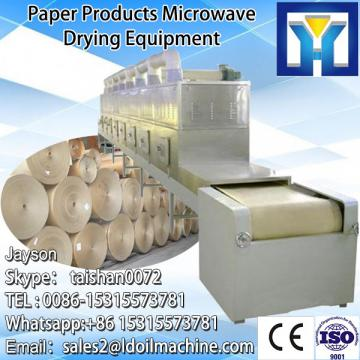 Industrial continuous microwave onion powder dehydration machine