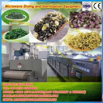 Green Yolk Particles Microwave Drying Sterilization Equipment Tea Drying and Sterilization Equipment