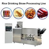 Automatic drinking straw extrusion machine